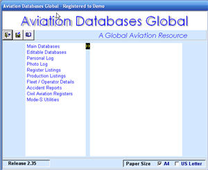 Aviation Databases Home